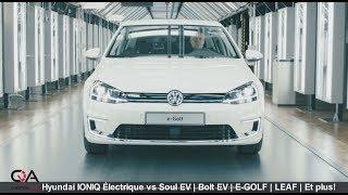 2017 Hyundai IONIQ Électrique VS Soul EV | Bolt EV | E-golf | Leaf et plus!! | Essai complet 4/7