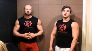упражнение для грудных мышц видео
