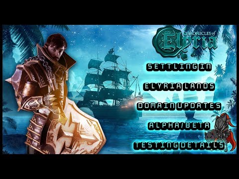Chronicles of Elyria MMORPG Update 9/8/2019 – ⚜Testing Details, Dance of Domains, Community Journal