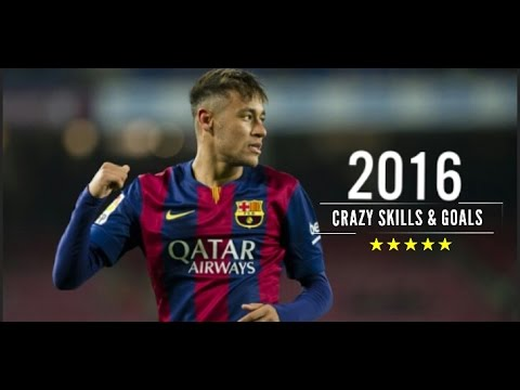 Neymar JR 2016 • Crazy Skills & Goals -HD