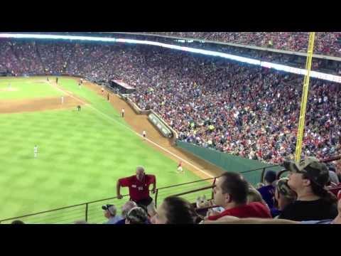 Houston Astros-Texas Rangers 2013.08.20.