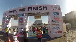 Highlights from the 2013 Tokyo Marathon