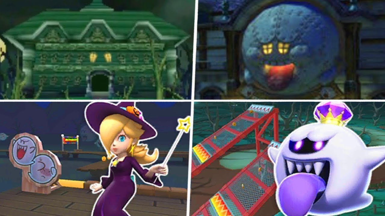 Evolution of Halloween Courses in Mario Kart Games (1992 – 2019)