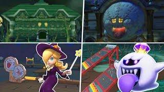 Evolution of Halloween Courses in Mario Kart Games (1992 - 2019)