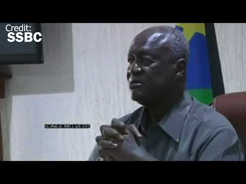 Kuol Manyang during the briefing of officers after the ceasefire was signed in Khartoum