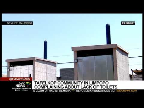 Tafelkop residents in Limpopo complain about lack of toilets