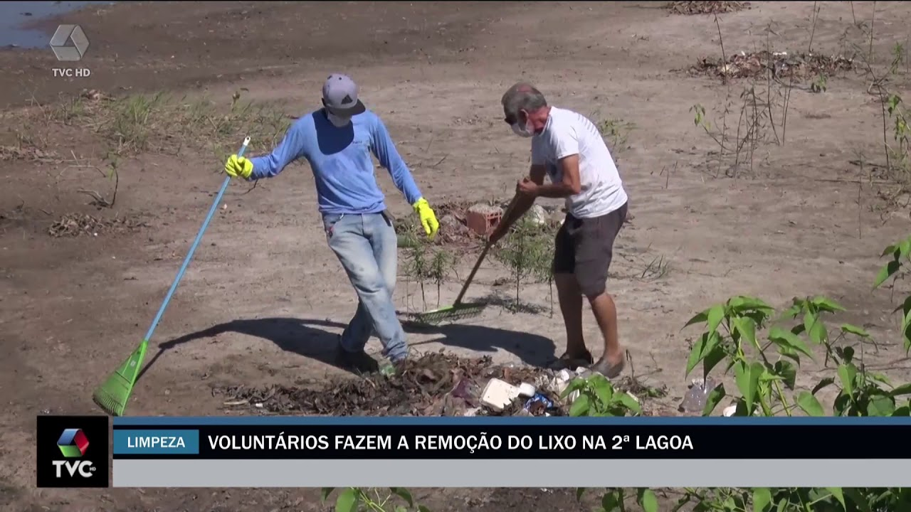 ONG faz mutirão de limpeza na segunda lagoa em Três Lagoas