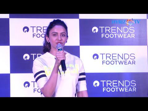Actress Rakul Preet Singh at Trends Footwear launch in Kukatpally Hyderabad Mp3