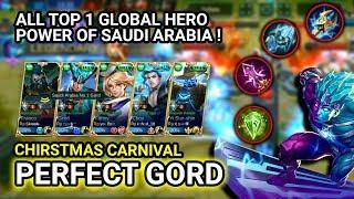 DREAM TEAM ALL TOP HERO! Top 1 Global Gord ᴿᴾтуρєƦ™ Gord Gameplay - Mobile Legends