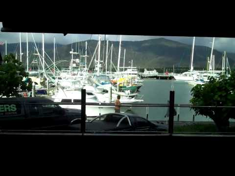 Pier waterfront cairns australia great barrier reef