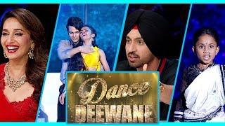 Dance Deewane : Diljit Dosanjh Dances On Set | Soorma | Madhuri, Tushar, Shashank