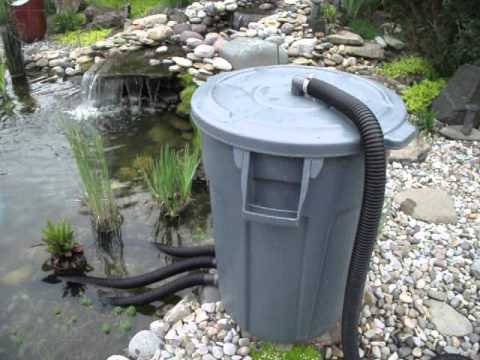 Pond vac home made youtube for Keeping ponds clean without filter