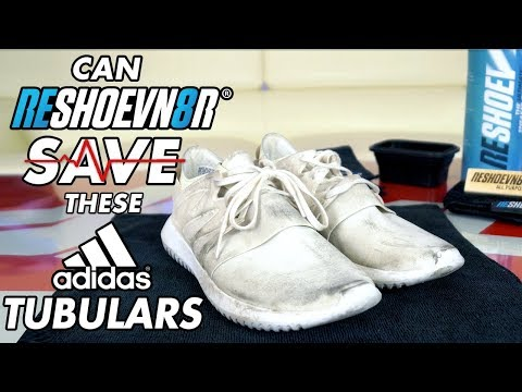 Can Reshoevn8r save these triple white Adidas Tubulars?