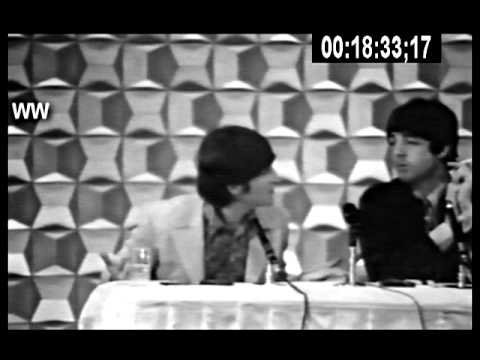 Beatles Japan 1966 Press Conference - True Stereo (Temp Mix)