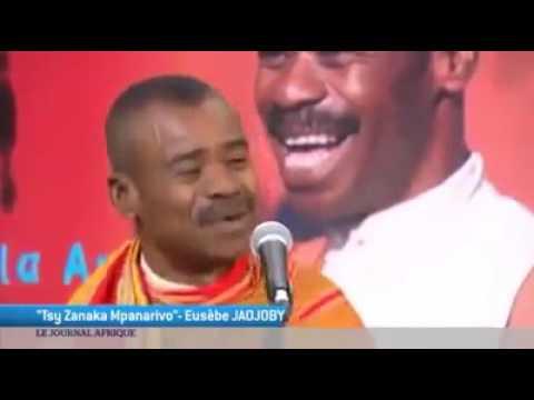 Eusèbe Jaojoby invité du journal Afrique sur Tv5monde
