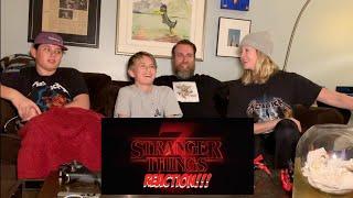 Stranger Things Season 3 Trailer - REACTION