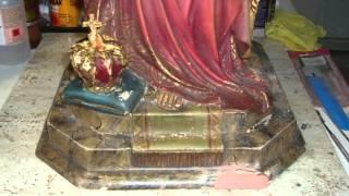 Restauración imágenes religiosas.