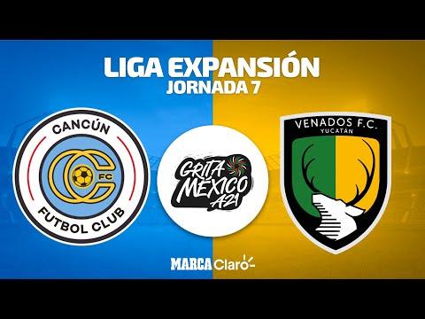 Cancún vs Venados   Liga de Expansión   Apertura 2021   Jornada 7