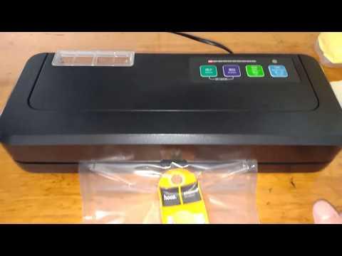 Máy Hút Chân Không không kén túi ( video hướng dẫn và trình bày cách hút túi zip bạc )
