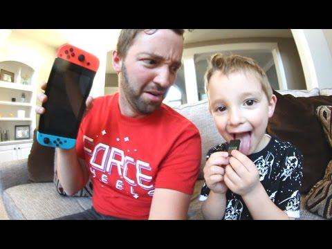 5 Year Old Tastes Nintendo Switch Games Tastes