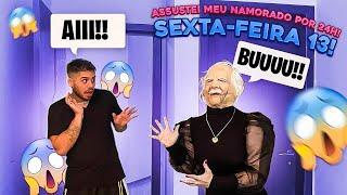 24H ASSUSTANDO O ZE FELIPE NA SEXTA FEIRA 13!!!