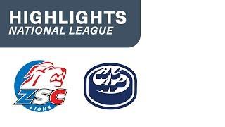 ZSC Lions vs Ambri 3:4 n.V. - Highlights National League