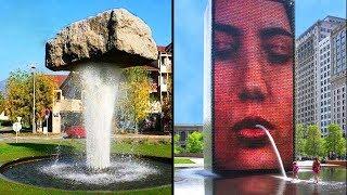 Quello che fa questa fontana è qualcosa di Assurdo!