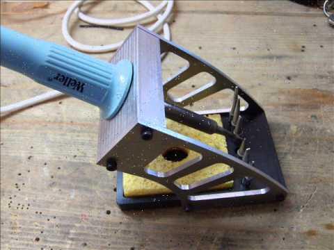 soldering iron holder youtube. Black Bedroom Furniture Sets. Home Design Ideas