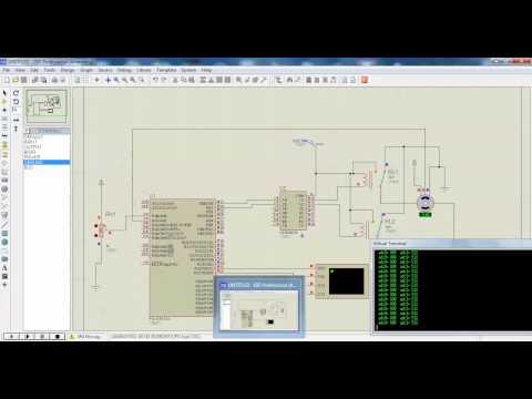 การเขียนโปรแกรม pic877 control motor servo pot