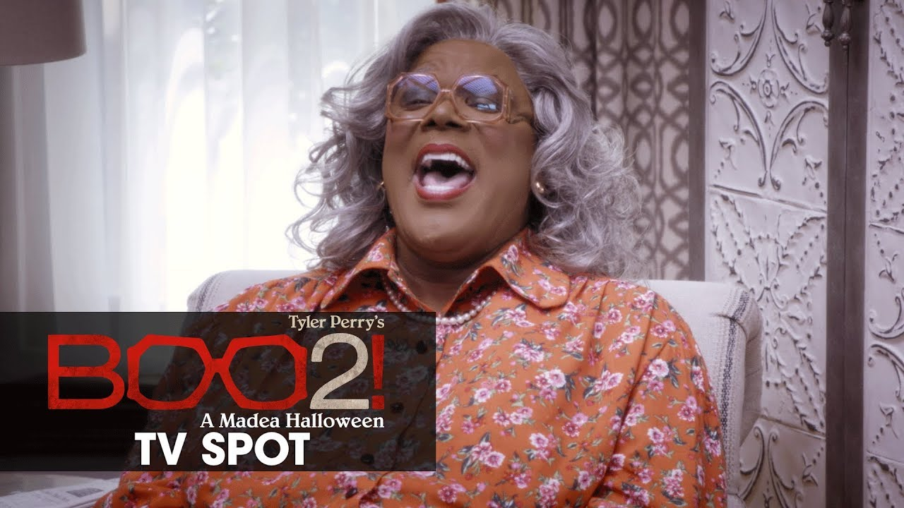 Boo 2! A Madea Halloween (2017 Movie) Official TV Spot – 'It's Coming'