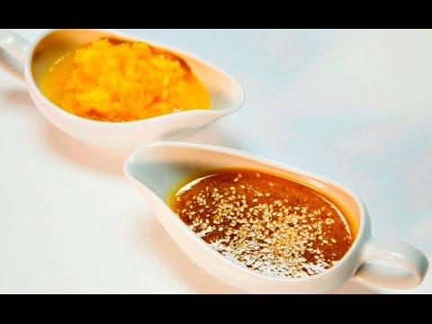Два соуса из апельсинов