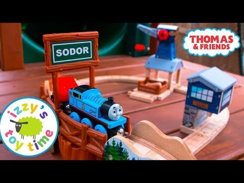 Thomas And Friends Deluxe Timber Tidmouth Playset! Fun Toy Trains  | Videos For Children!