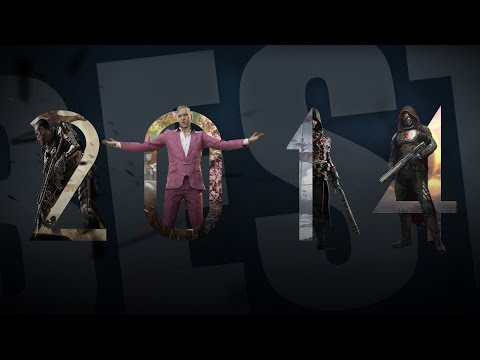 Best Video Game Trailers of 2014 - GAME TRAILER MASHUP 2014 (Happy New Year 2015)