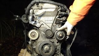 How to disassemble engine VVTi Toyota. Part 1/31: Ignition coils
