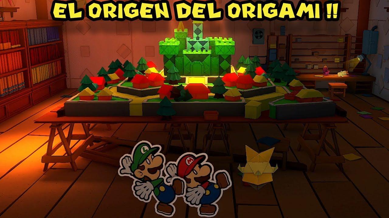 El Origen del Origami REVELADO !! - Paper Mario Origami King con Pepe el Mago (#20)