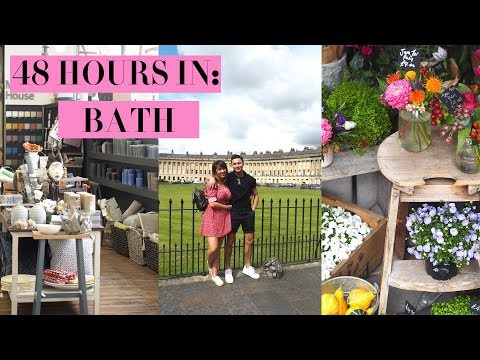 48 HOURS IN BATH | ULTIMATE GUIDE TO BATH | AD