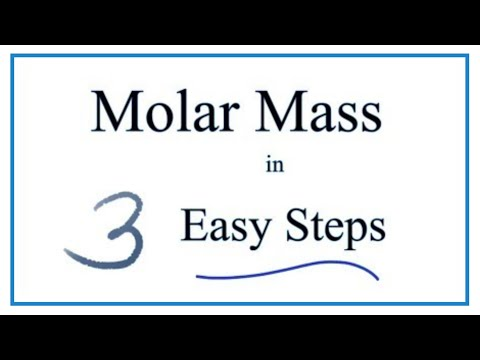 How To Calculate Molar Mass Molecular Weight YouTube