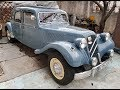 Restored Citroën Traction Avant.