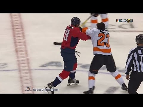 Brandon Manning vs Alex Chiasson Jan 31, 2018