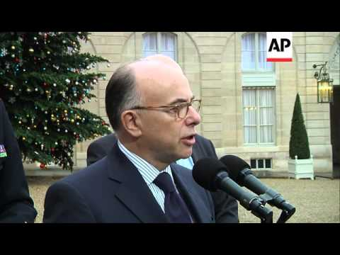 France's interior minister says operation to detain suspects now underway