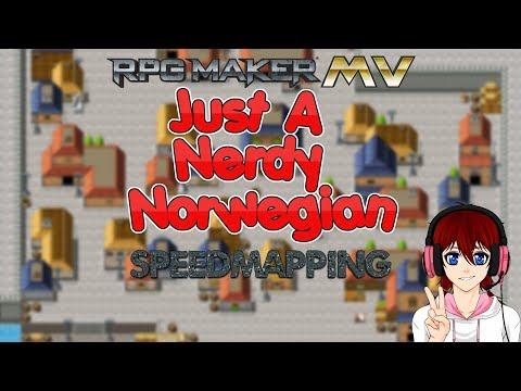 #3   RPG Maker MV Speedmapping - City  