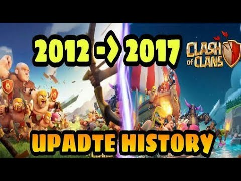 Full update history Clash of clans|| coc all updates history|| COC starting to end|| COC history