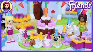 Lego Friends Daisy's Birthday Party ALL SETS TOGETHER! - Kids Toys Play