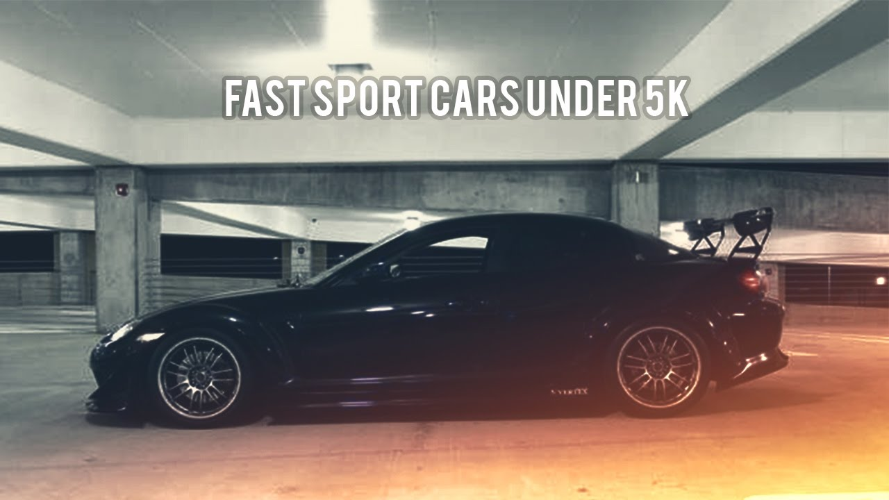 Top 10 Sport Cars Under 5k Youtube