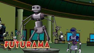 FUTURAMA | Season 2, Episode 19: Mom's Friendly Robot Company | SYFY