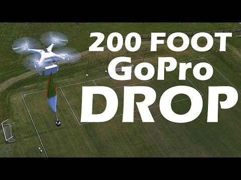 KEN HERON - DROPPING a GoPro from 200 Feet
