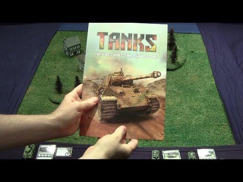 Battle Report and Tutorial - Tanks The World War II Tank Skirmish Game (Flames of War)