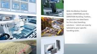Siemens Material Handling with SIMOTION Toolbox