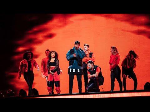 Öppningsnummer med topp 13 i finalen av Idol 2018 - Idol Sverige TV4