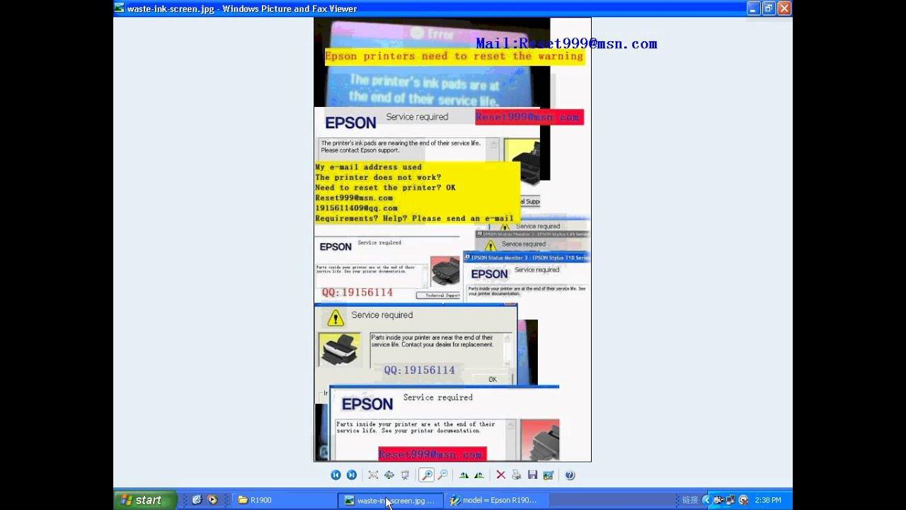 Reset Eprom Epson 1410 Adjustment Program